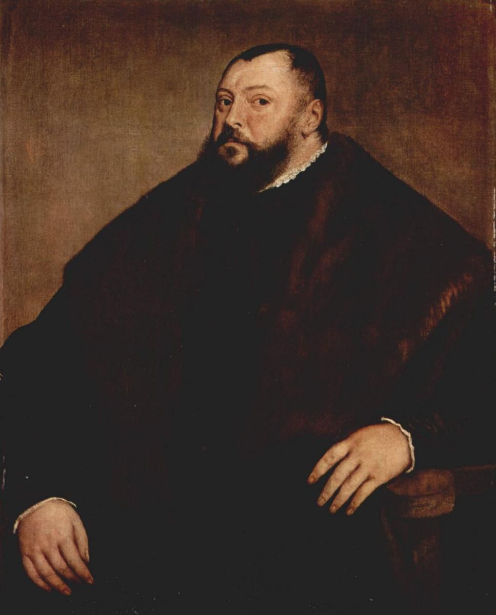 Тициан Вечеллио. Портрет Великого герцога Иогана Фридриха Саксонского