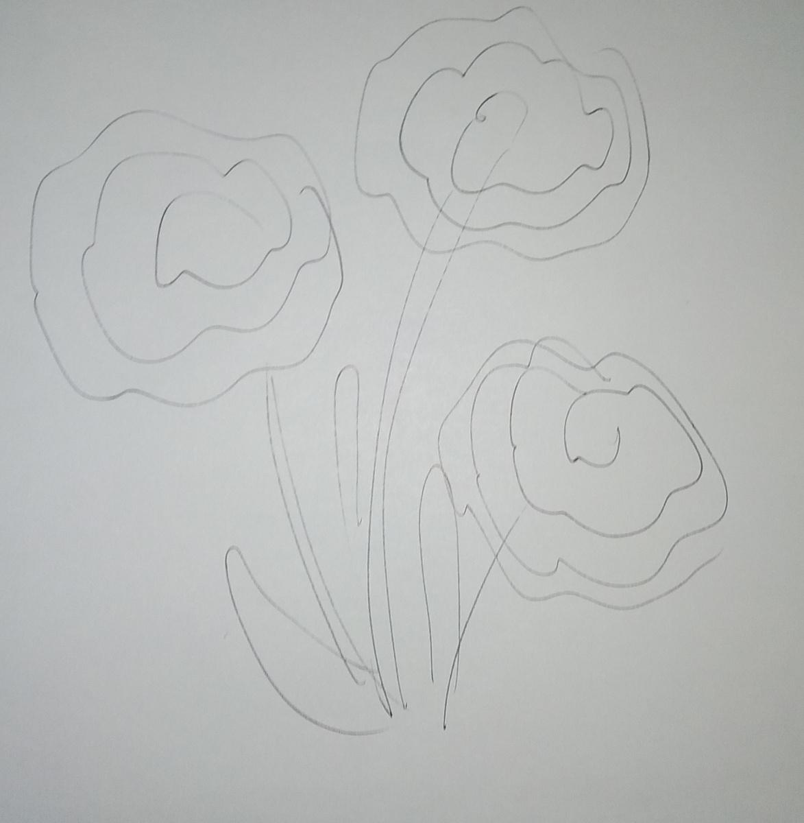 Zina Vladimirovna Parisva. Roses