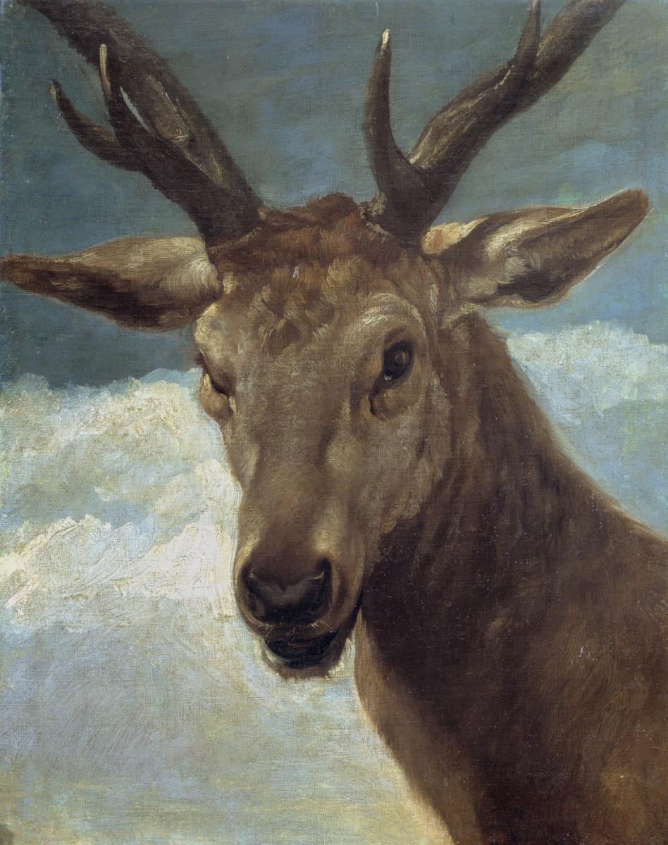 Диего Веласкес. Голова оленя