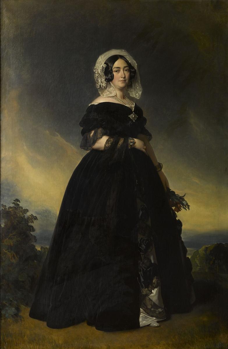 Франц Ксавер Винтерхальтер. Принцесса Мария Луиза Тереза Виктория, герцогиня Кента
