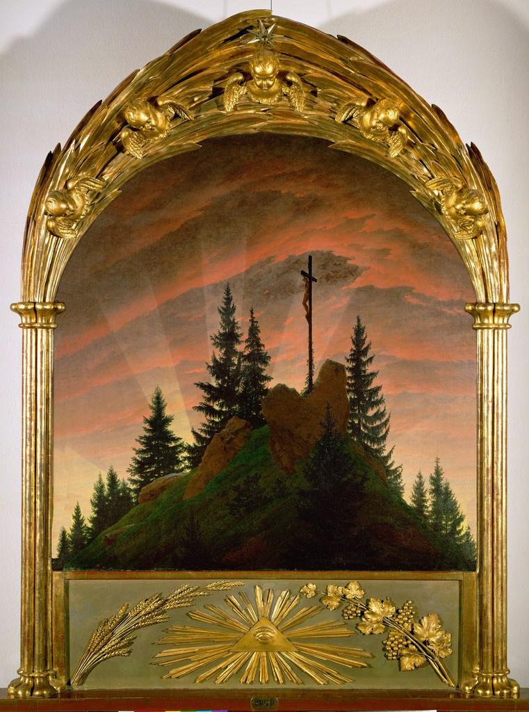 Каспар Давид Фридрих. Крест в горах