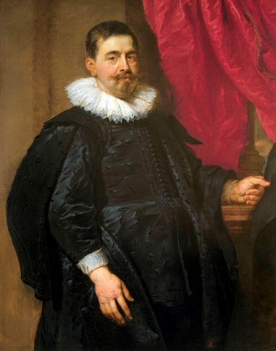 Питер Пауль Рубенс. Мужской портрет, возможно Петер ван Хеке