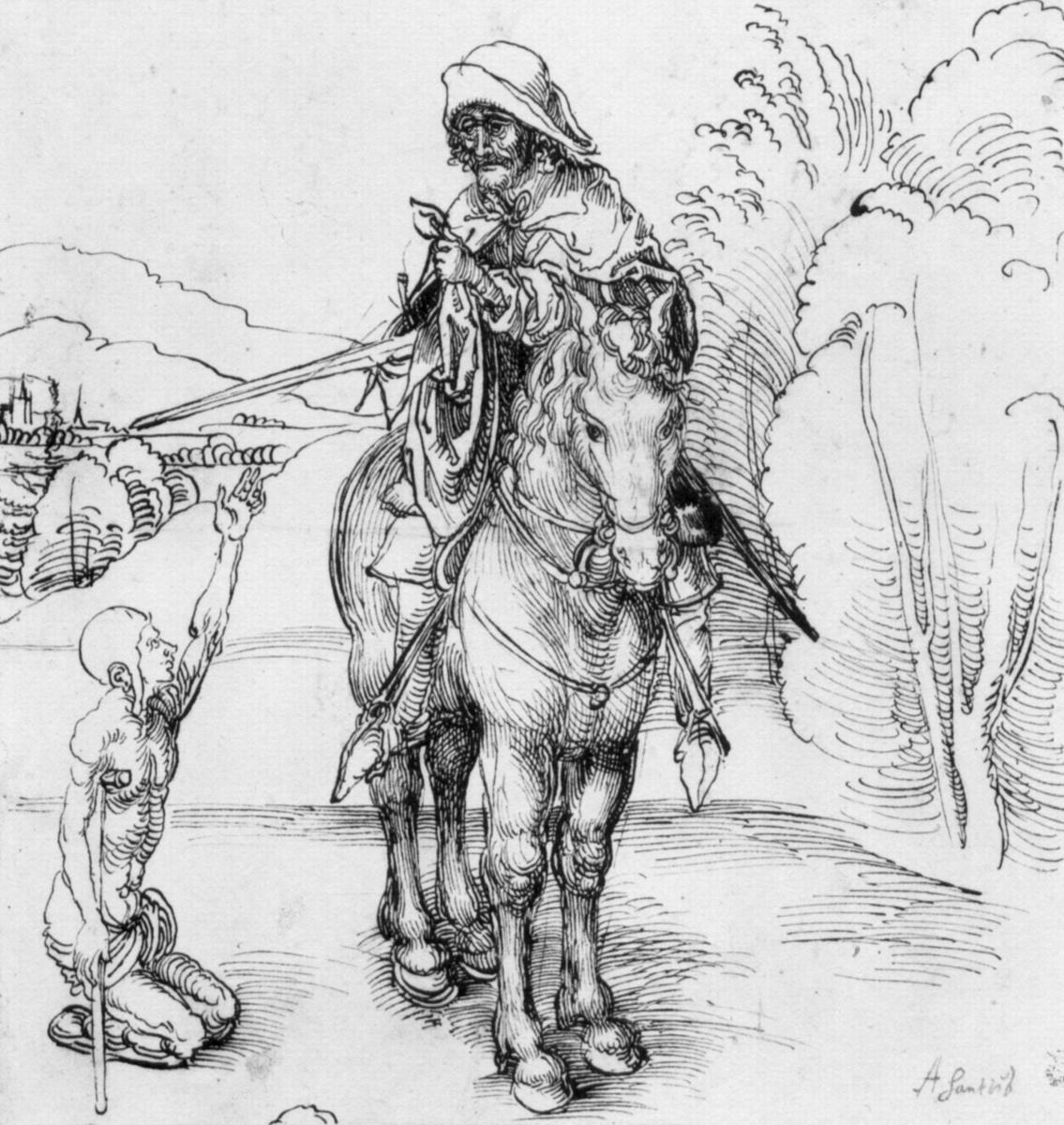 Albrecht Dürer. St. Martin