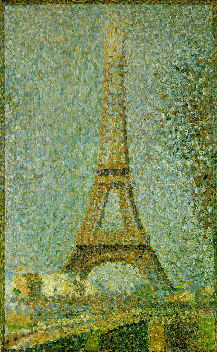Жорж Сёра. Эйфелева башня