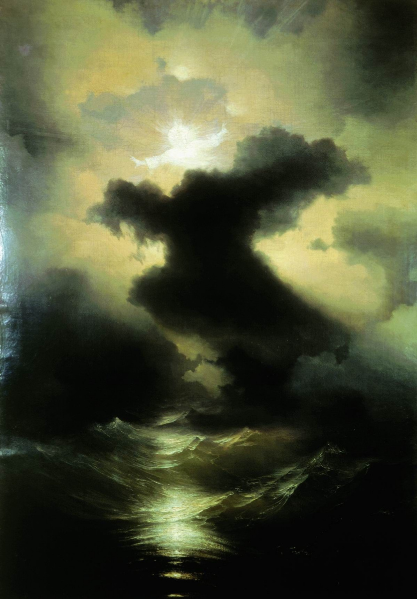 Ivan Aivazovsky. Chaos. The creation of the world