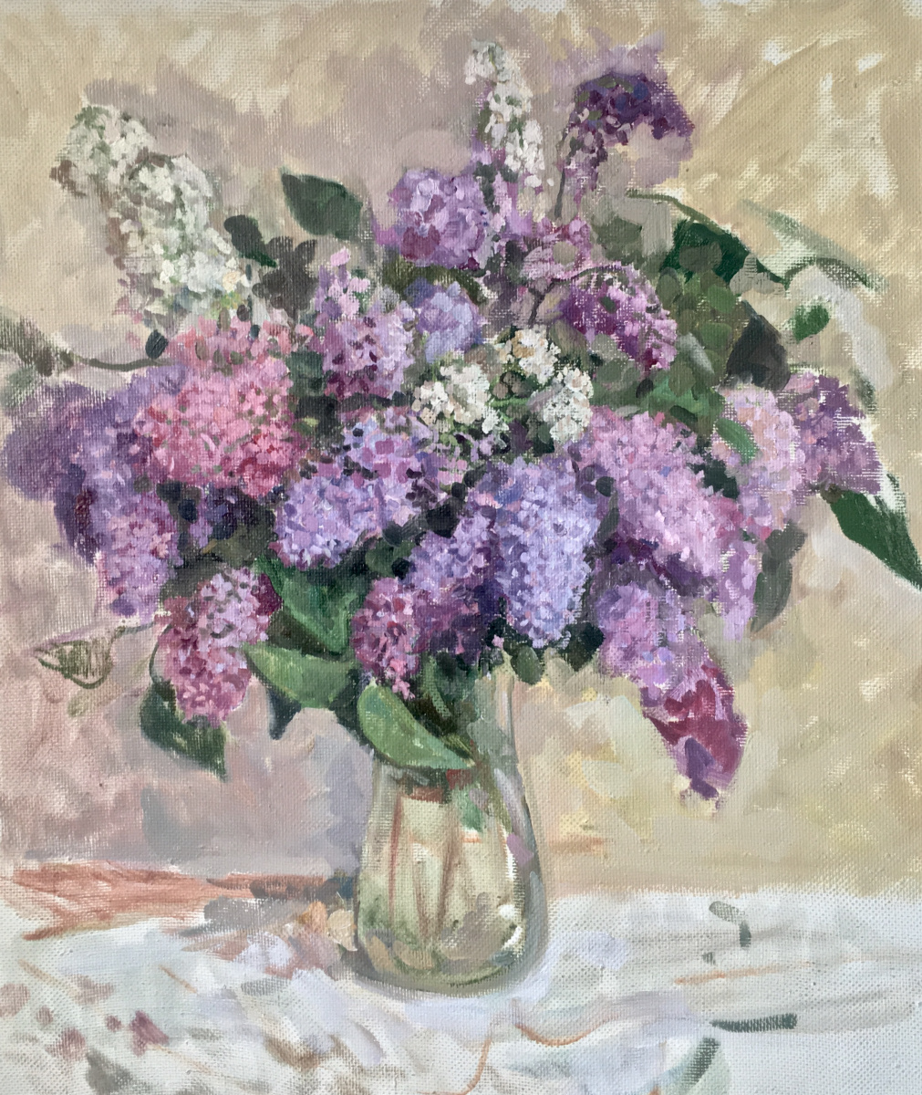 Aleksandr Chagadaev. Lilac