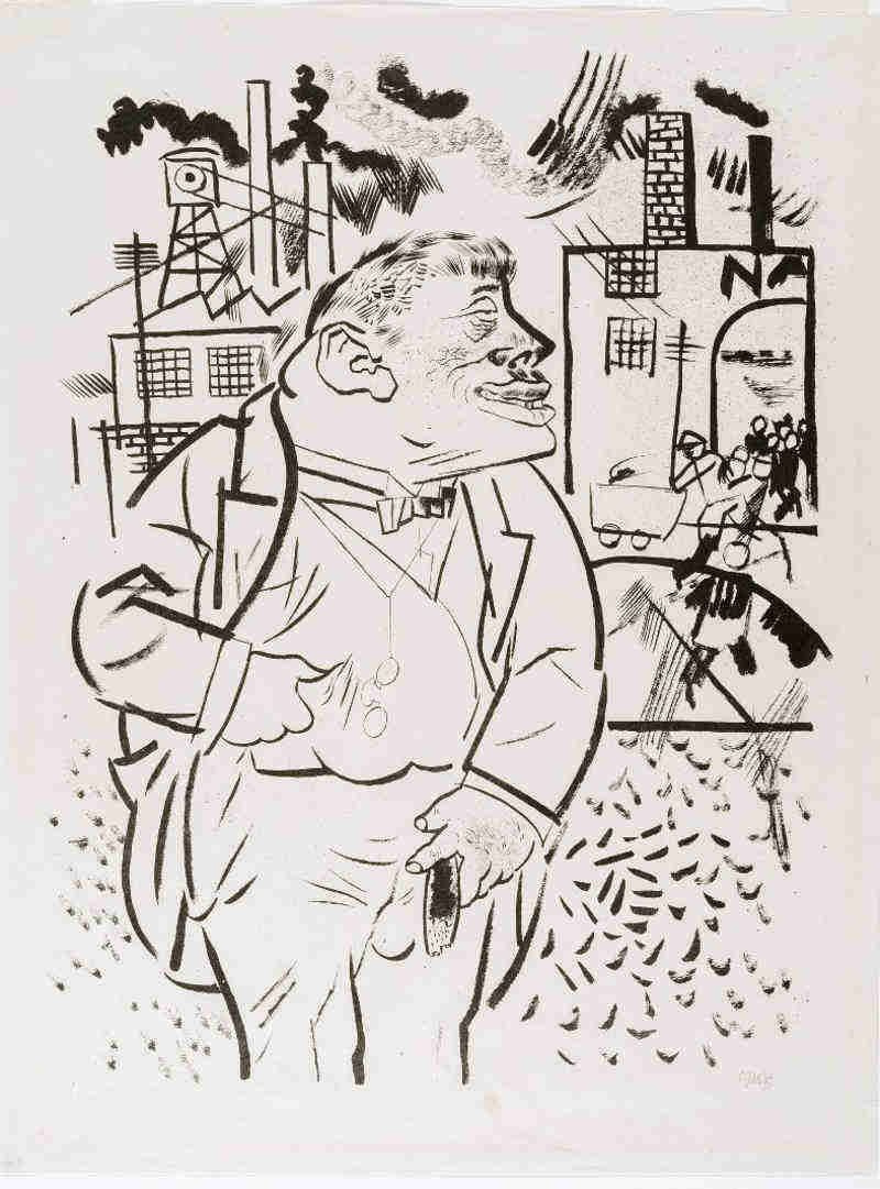George Grosz. Boss