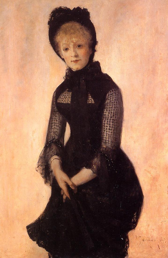 William Merritt Chase. Portrait Of Harriet Hubbard Ayer