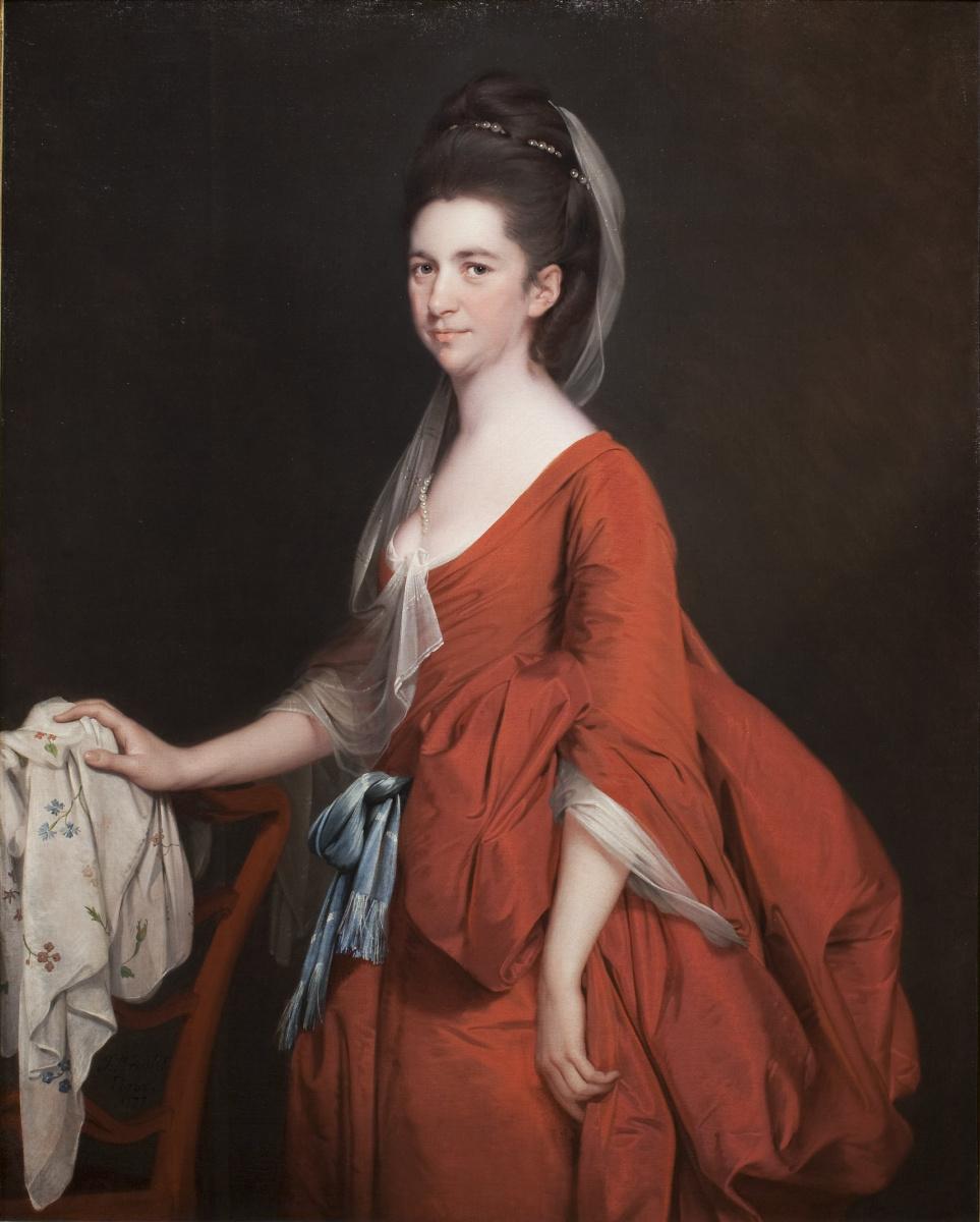 Joseph Wright. Portrait Of Dorothy Berig