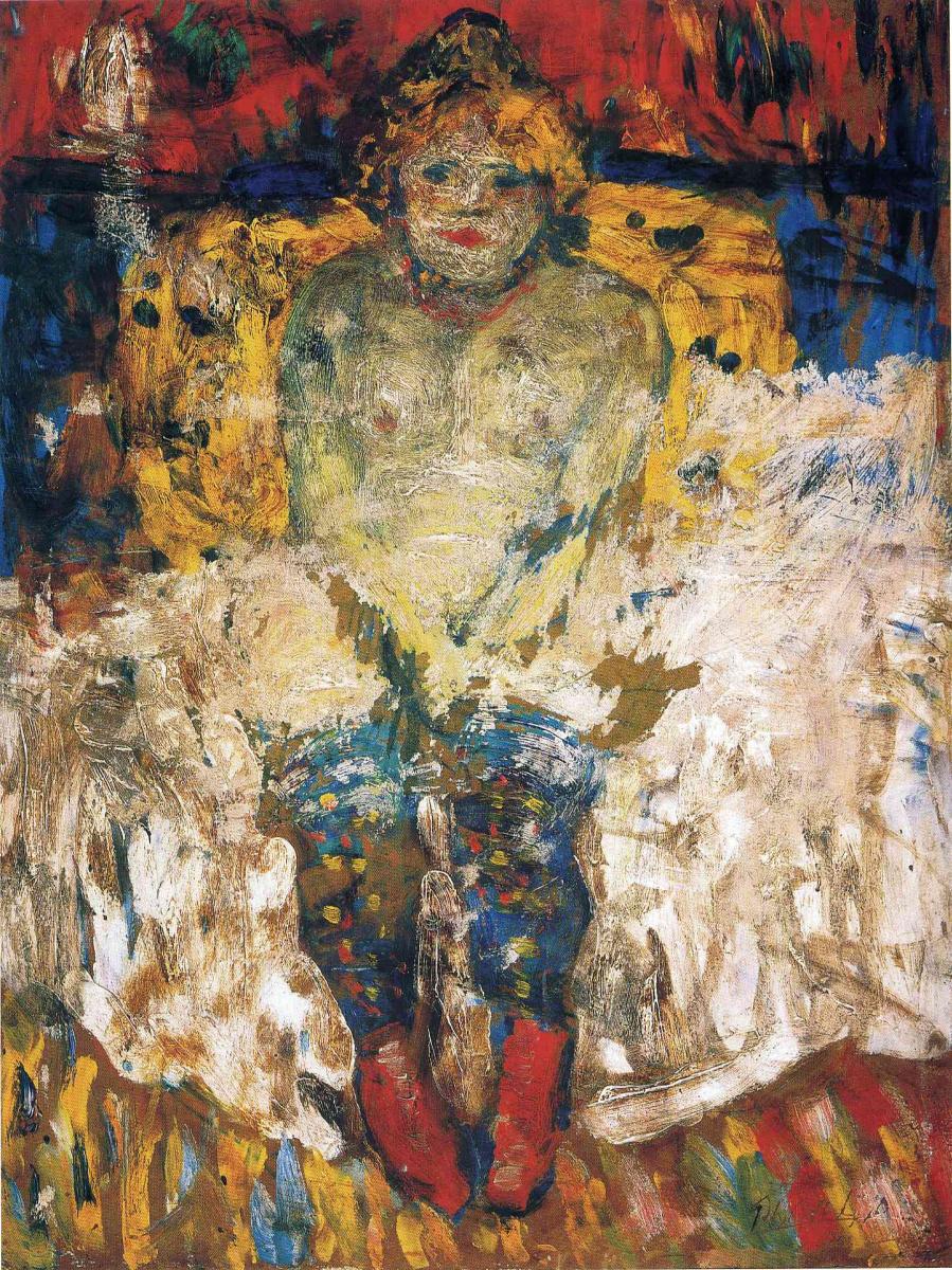 Пабло Пикассо. На кровати
