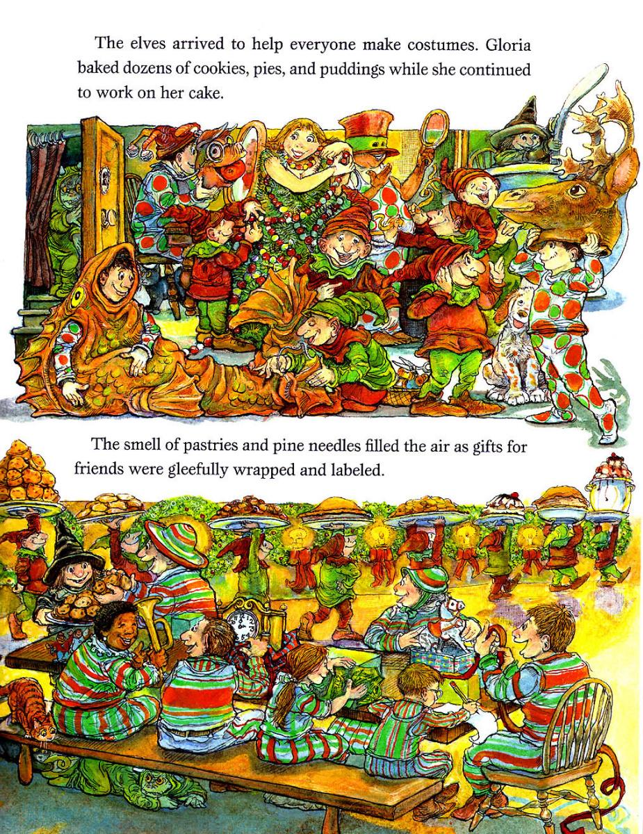 Стивен Келлог. Рождественская ведьма 18