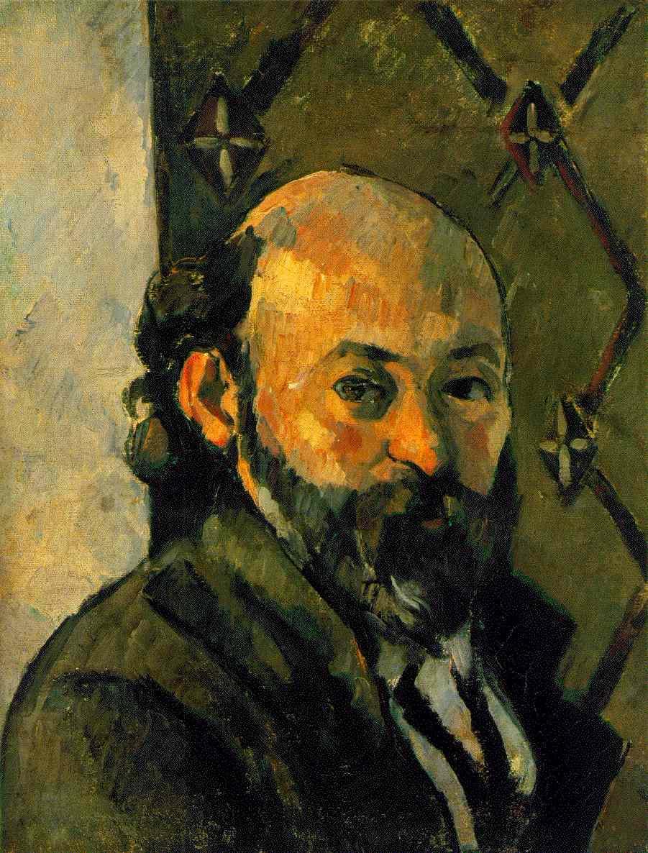Поль Сезанн. Автопортрет
