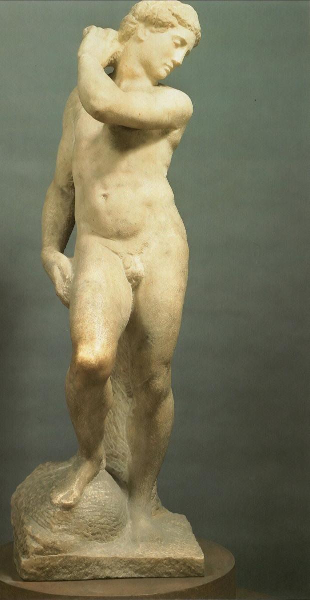 Микеланджело Буонарроти. Давид-Аполлон