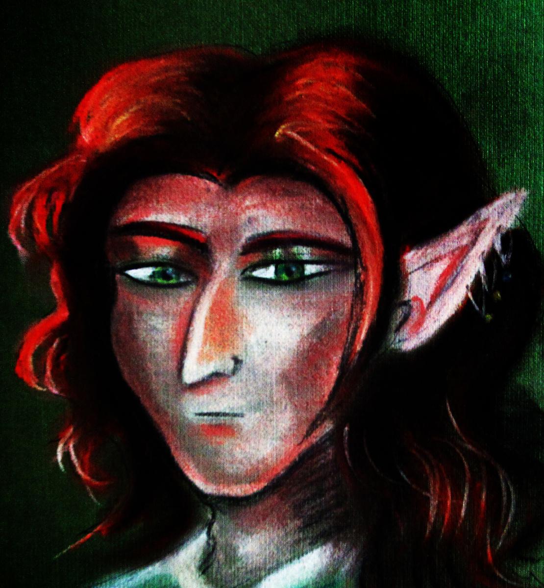 Anastasia. Red Haired Elf