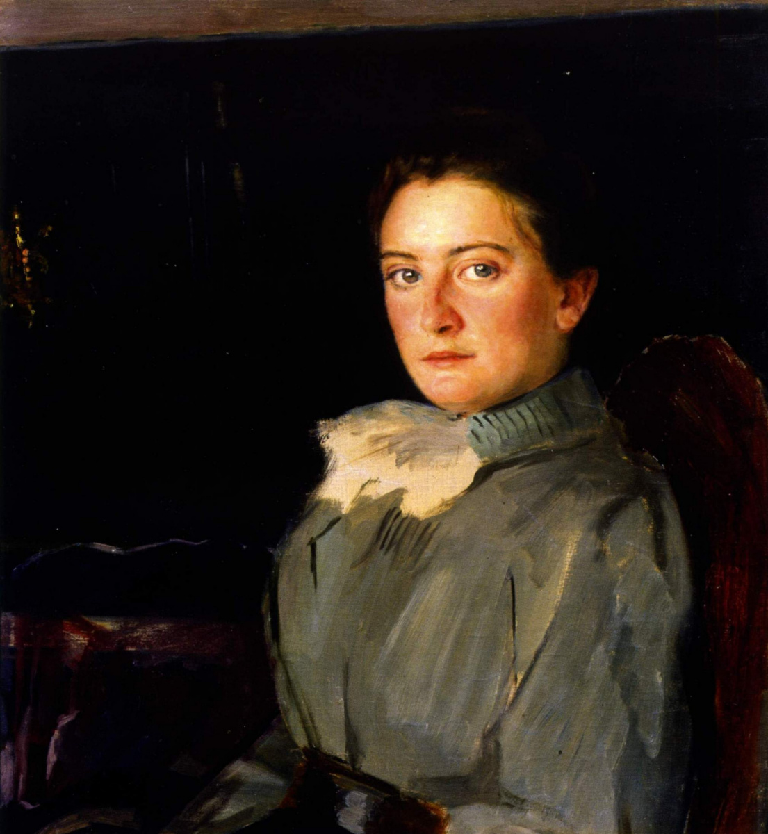 Евгений Иосифович Буковецкий. Female portrait