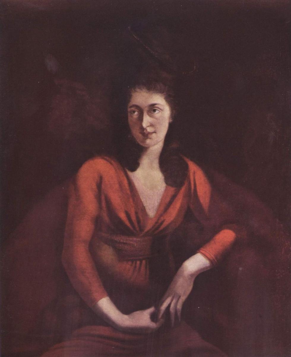 Иоганн Генрих Фюссли. Портрет Магдалены Гесс из Цюриха
