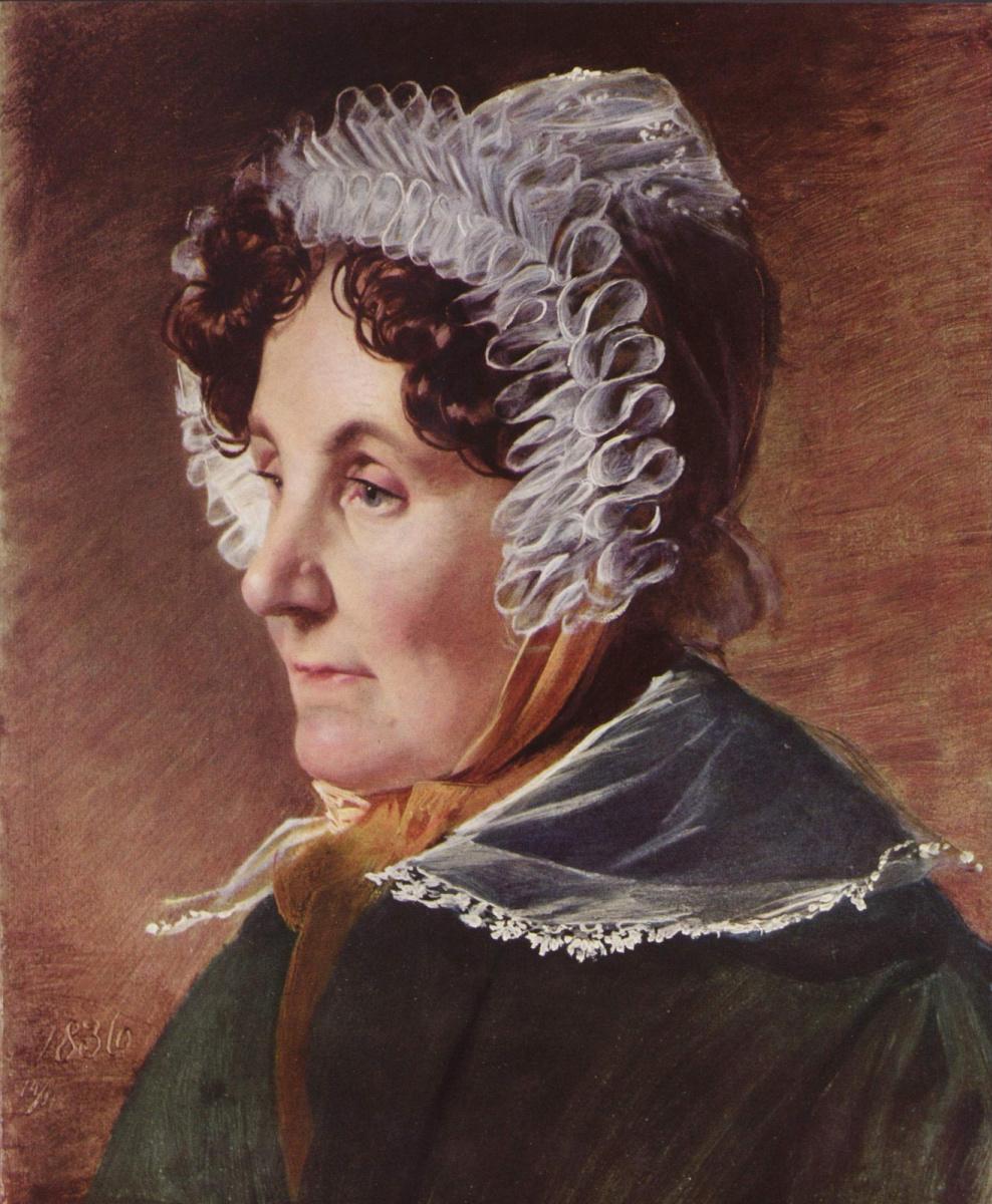 Friedrich von Amerling. The artist's mother. 1836