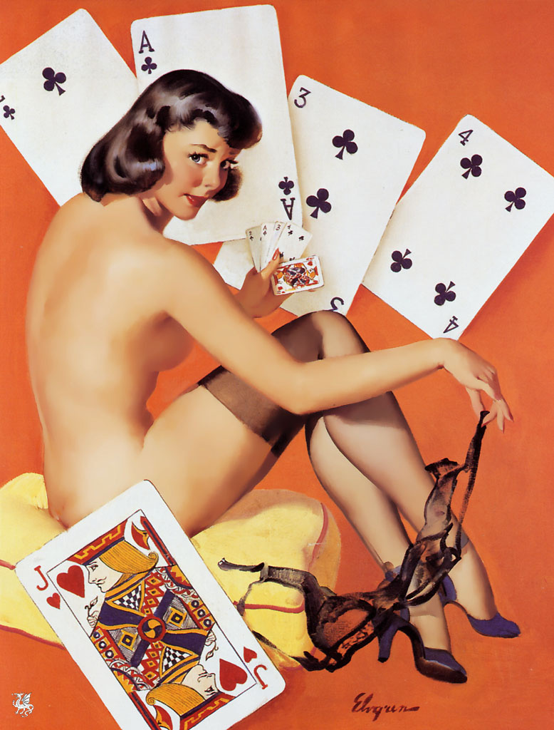 Jill Elvgren. Card