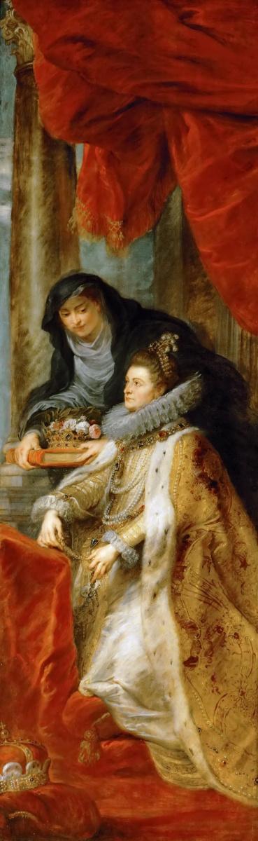 Питер Пауль Рубенс. Алтарь Святого Ильдефонса (фрагмент, правая створка)