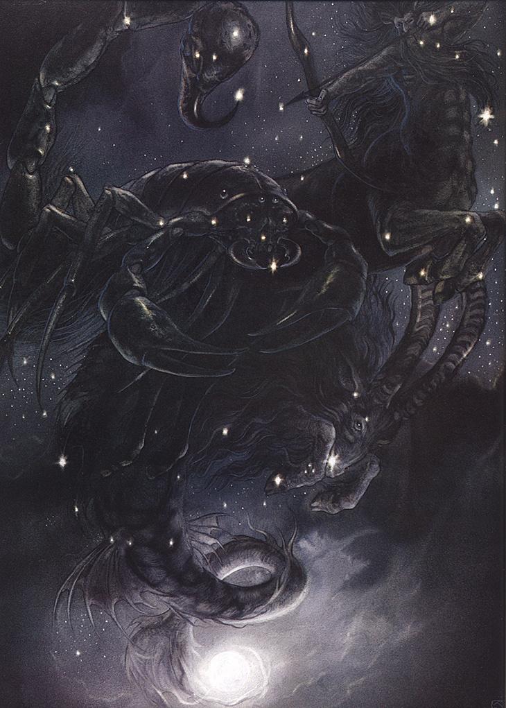 John How. Scorpio, Sagittarius, Capricorn