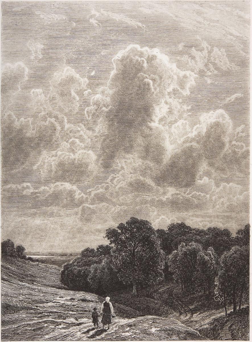 Иван Иванович Шишкин. Облака над рощей