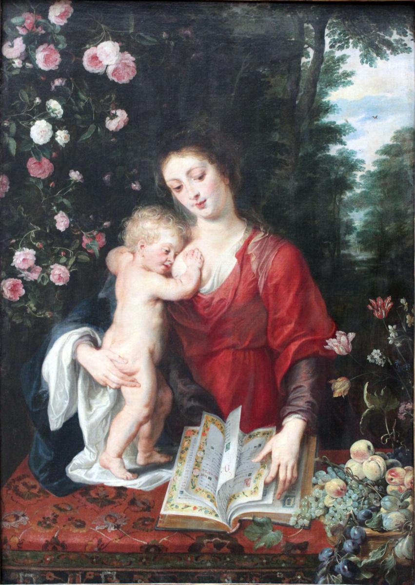 Питер Пауль Рубенс. Мадонна с младенцем