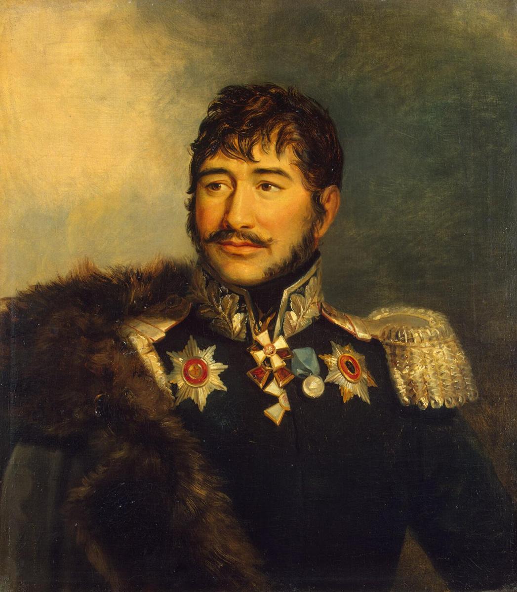Джордж Доу. Портрет Гавриила Амвросиевича Луковкина