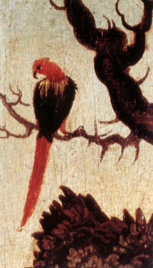 Лукас Кранах Старший. Птица на ветке