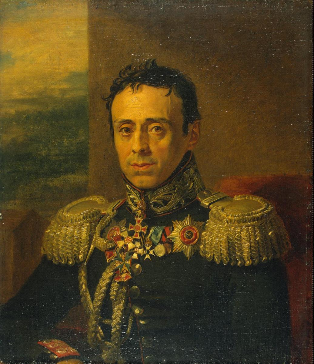 Джордж Доу. Портрет Николая Ивановича Селявина