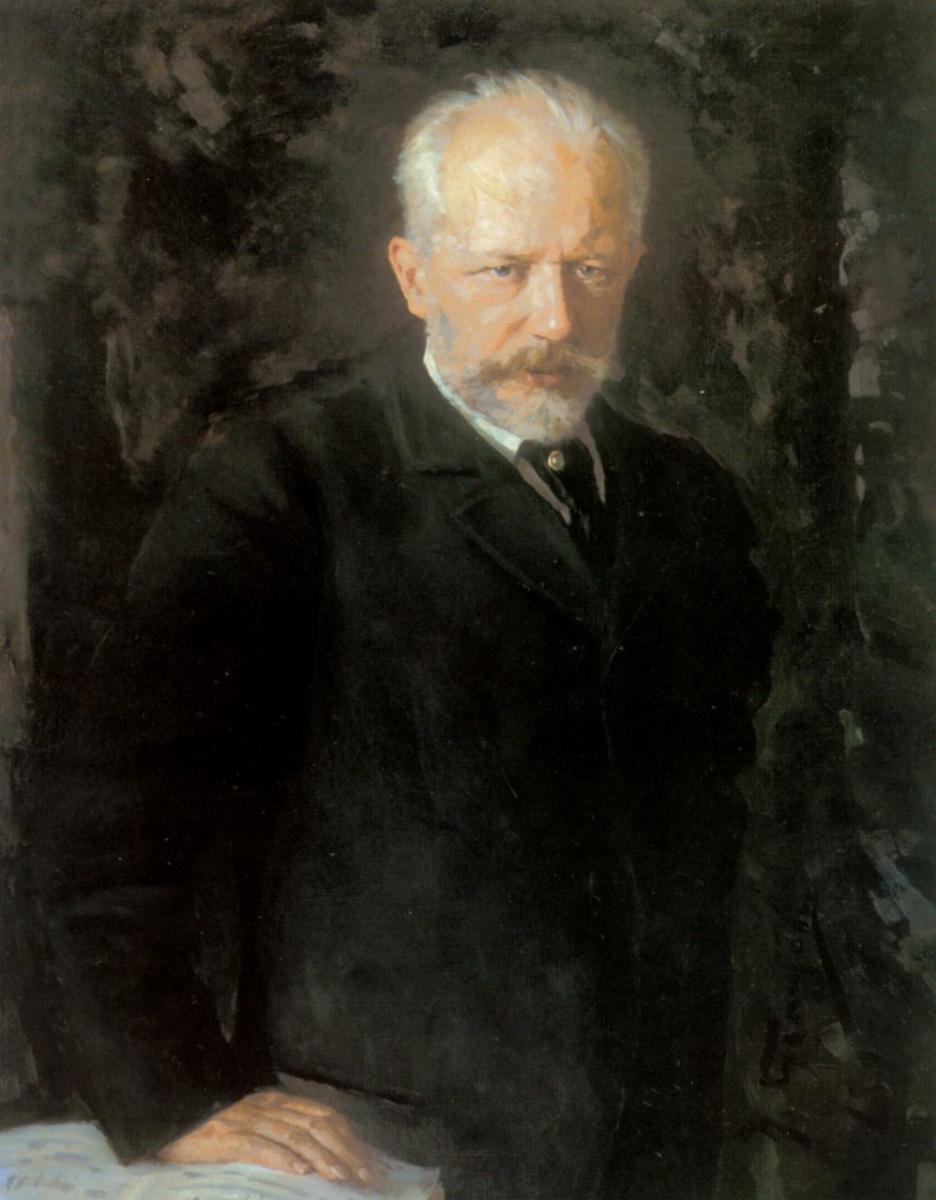 Николай Дмитриевич Кузнецов. Портрет композитора Петра Ильича Чайковского