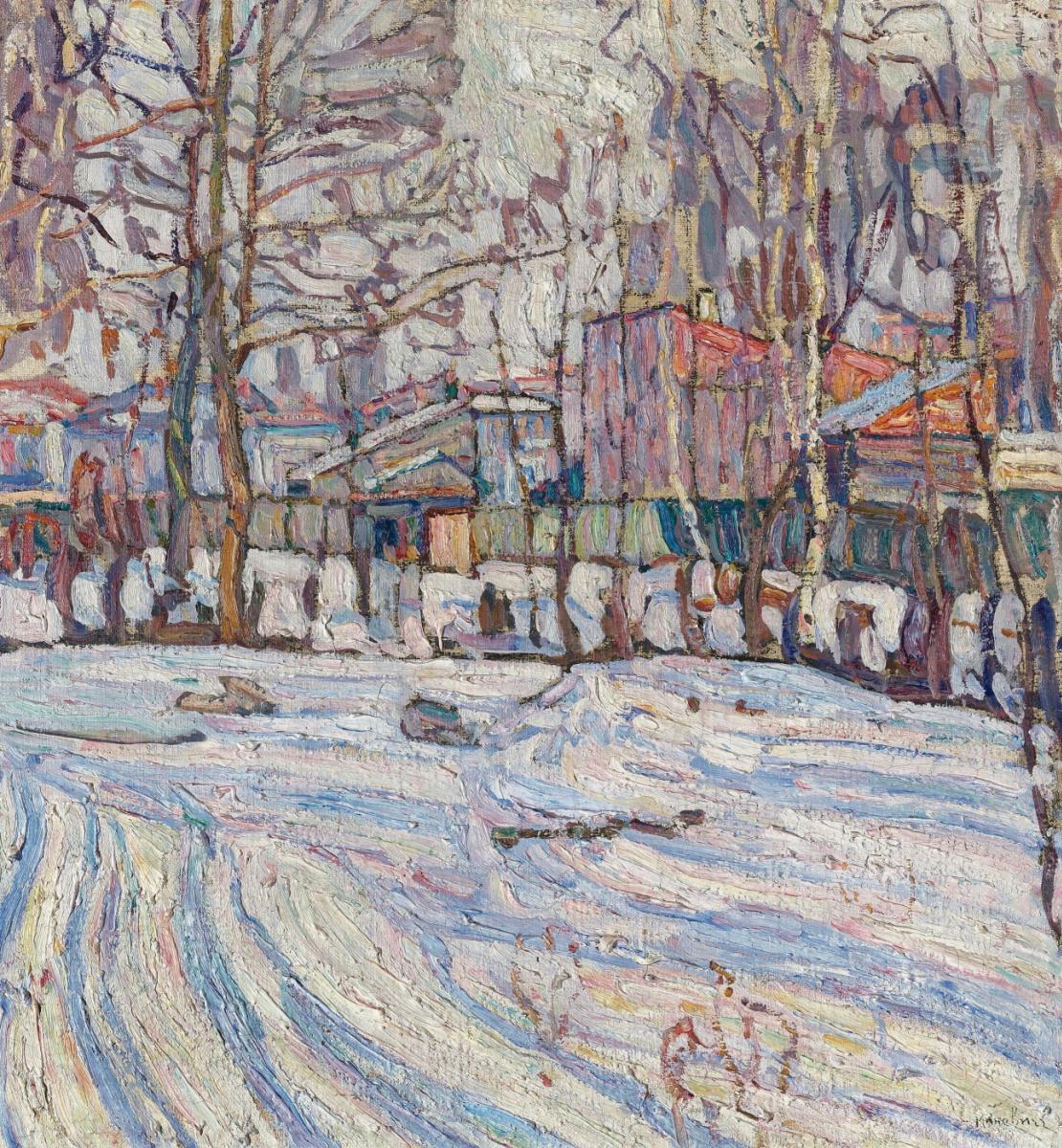 Абрам Аншелевич Маневич. Winter