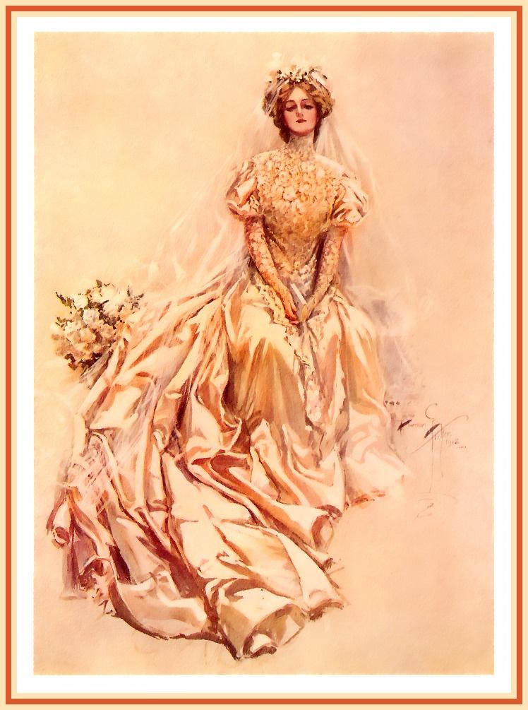 Harrison Fisher. The bride