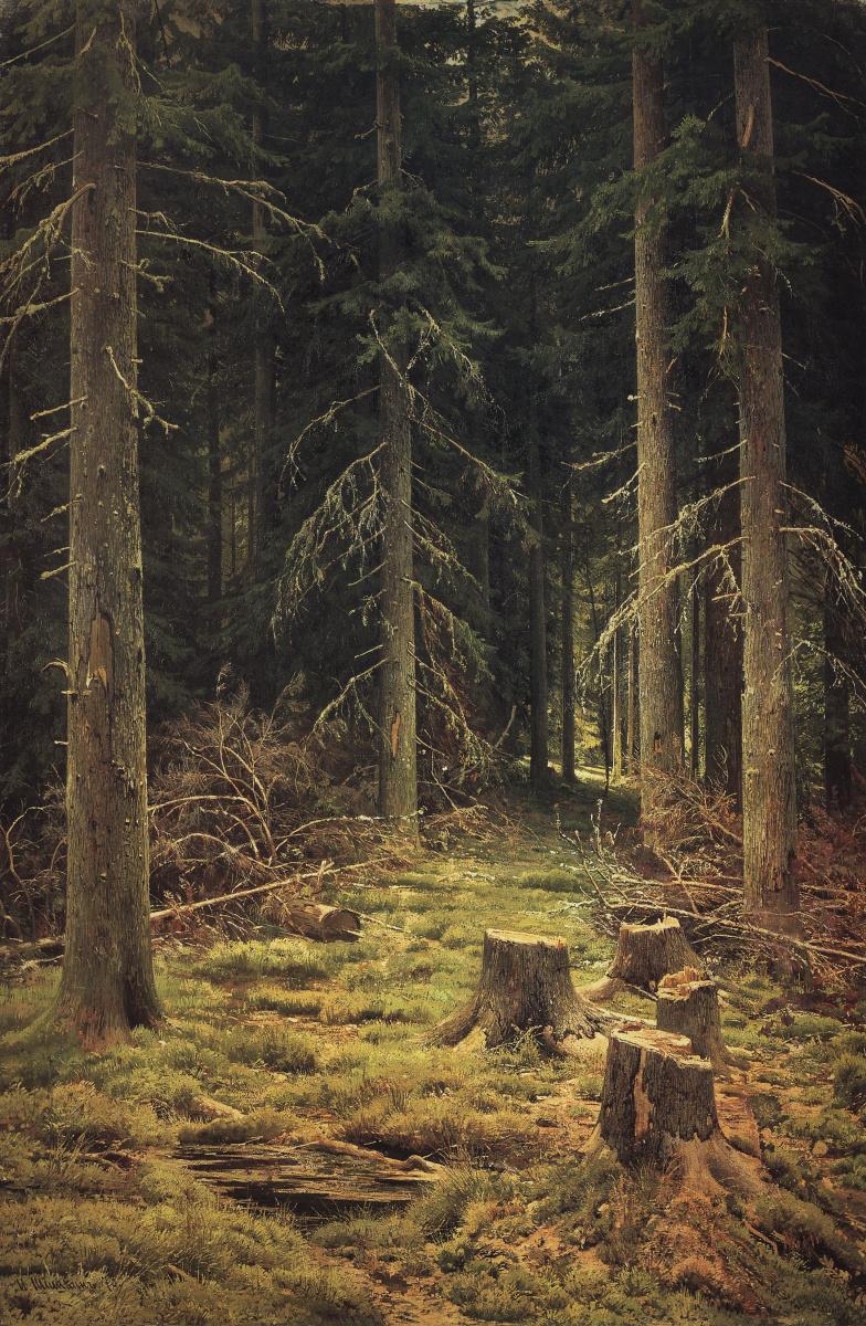Иван Иванович Шишкин. Хвойный лес