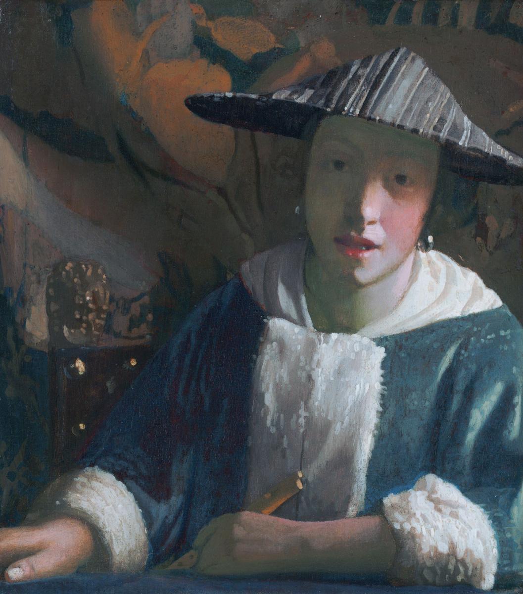 Ян Вермеер. Девушка с флейтой