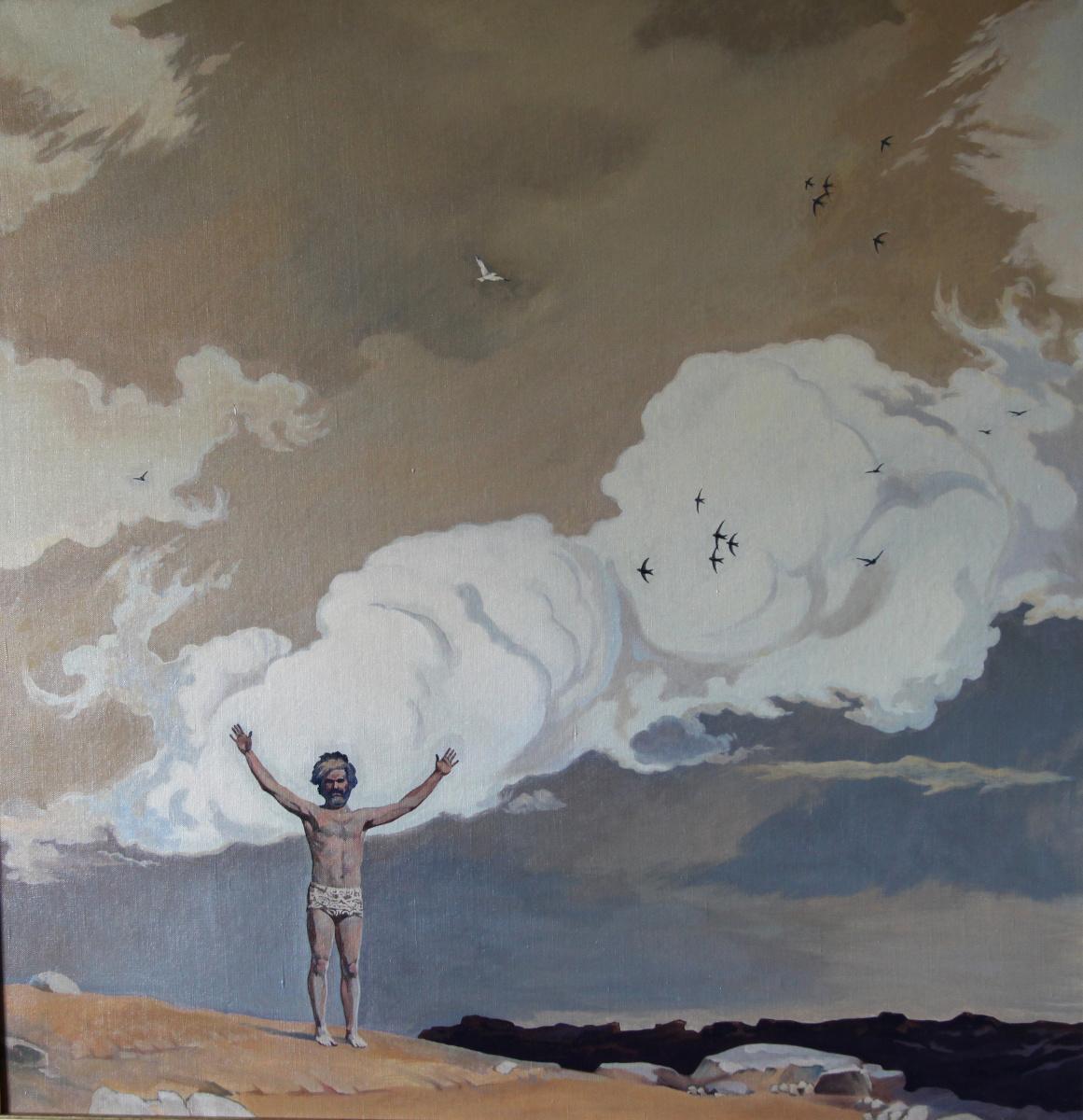 "Сергей Георгиевич Леконцев. ""Together with the sky"""