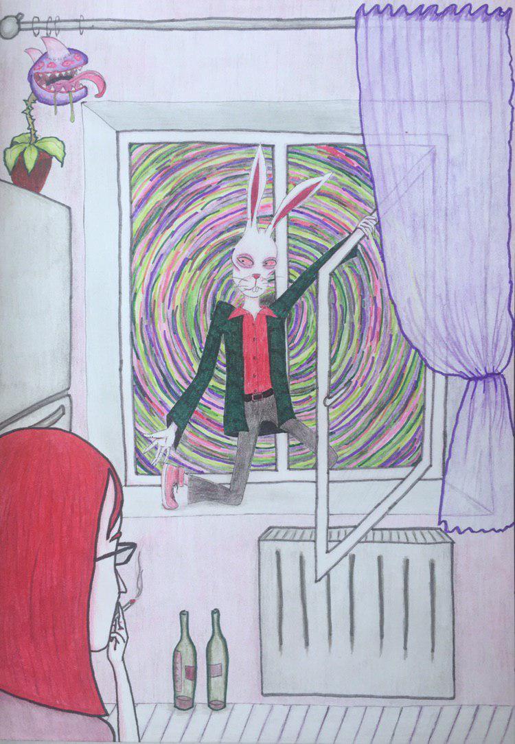 Alice Khokhlova. Escape from self-isolation