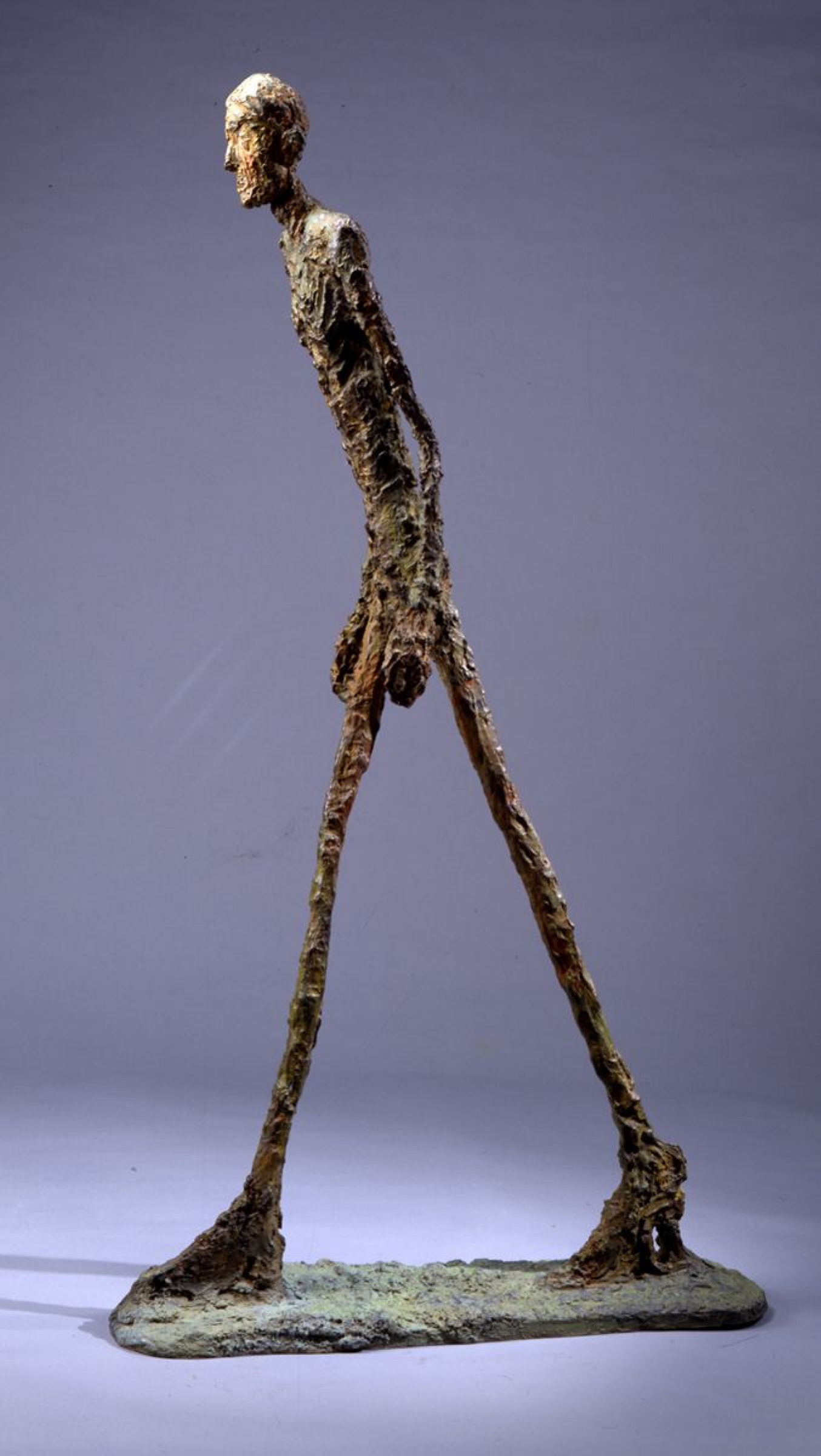Walking Man Ii By Alberto Giacometti History Analysis Facts