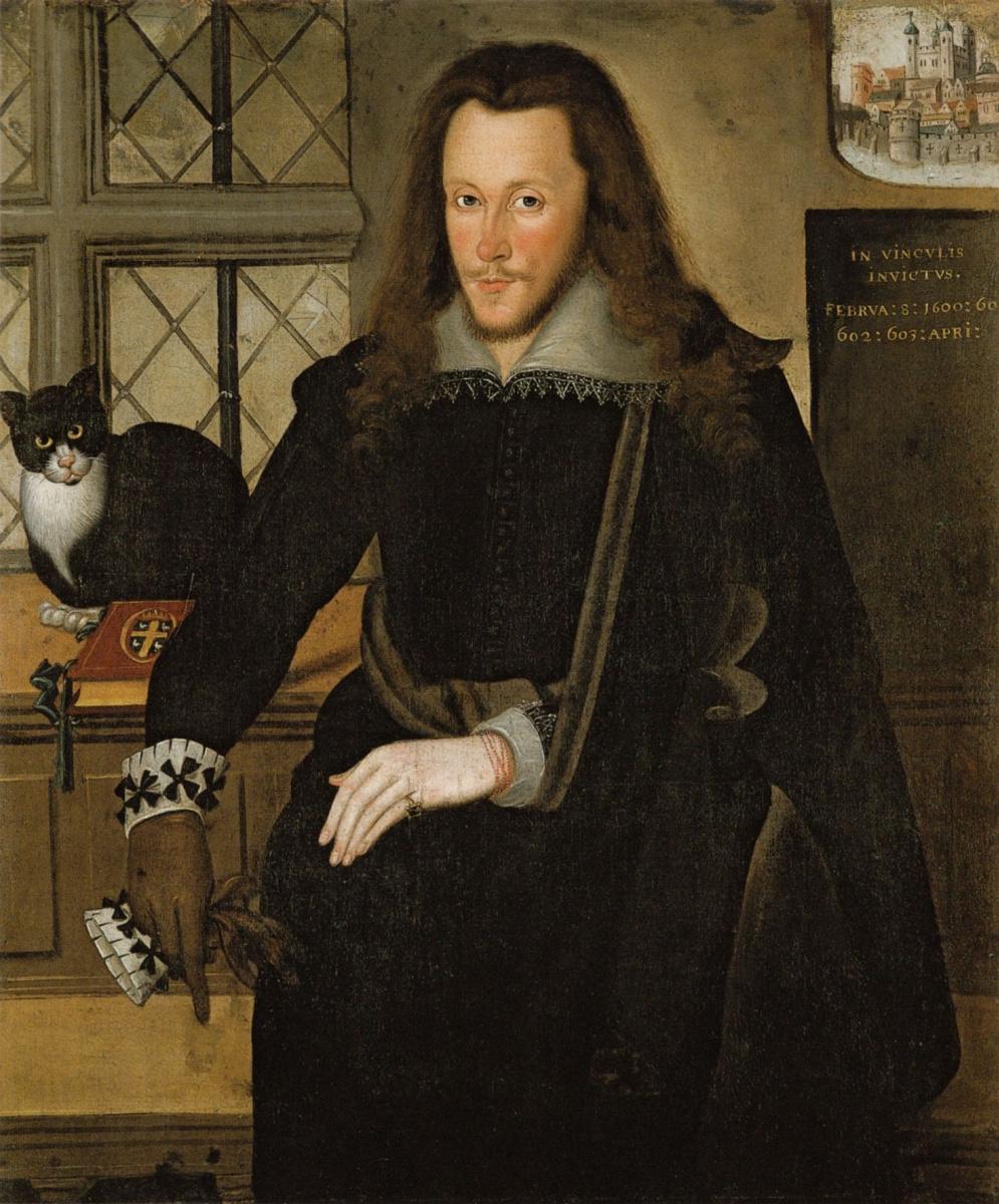 John De Krits. Portrait of Henry wriothesley, Earl of Southampton, The Earl of Southampton