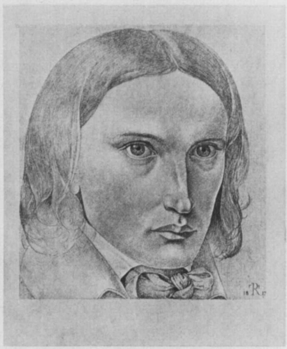 Theodore Rebenitz. Self-portrait