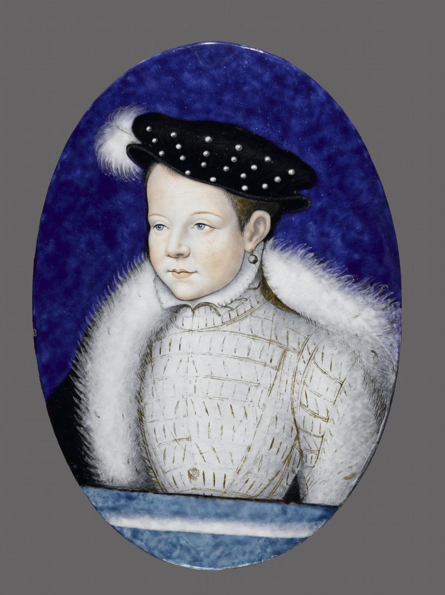 Лимосин. Портрет Франсуа, будущего Франсуа II