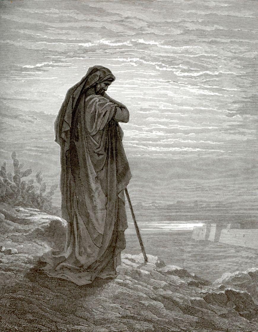 Поль Гюстав Доре. Пророк Амос