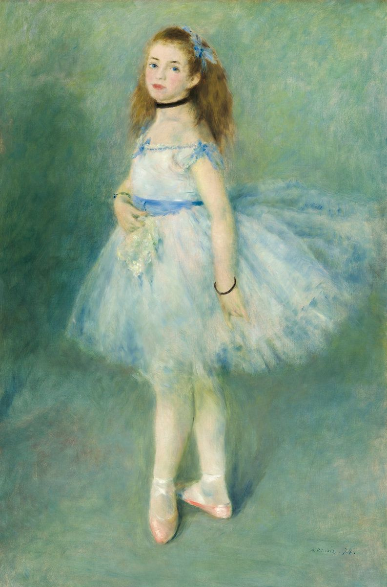Pierre-Auguste Renoir. Dancer