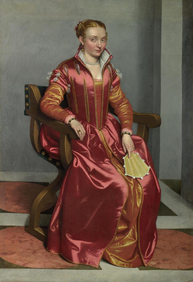 Джованни Баттиста Морони. Портрет леди