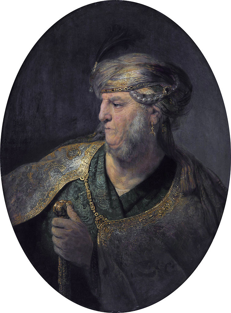 Rembrandt Harmenszoon van Rijn. Portrait of a man in Oriental dress