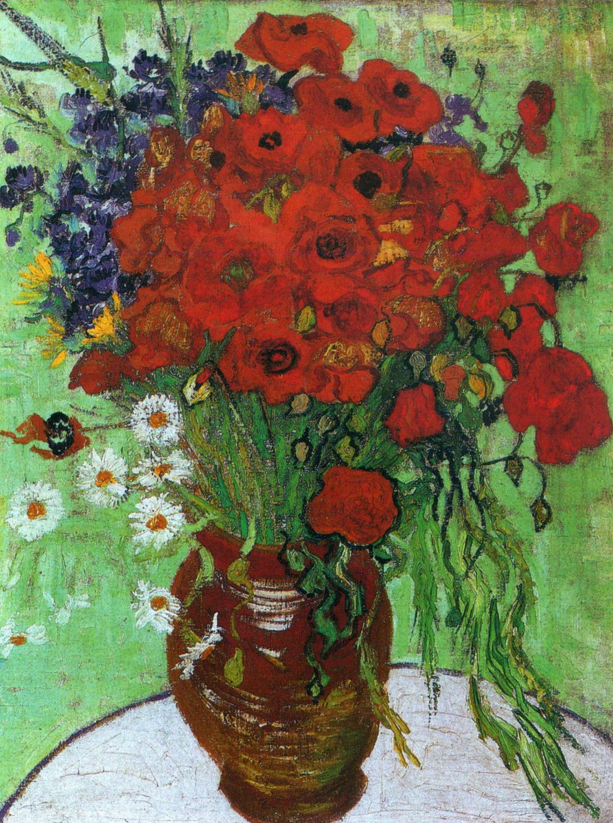 Poppies And Chamomile By Vincent Van Gogh History Analysis Facts