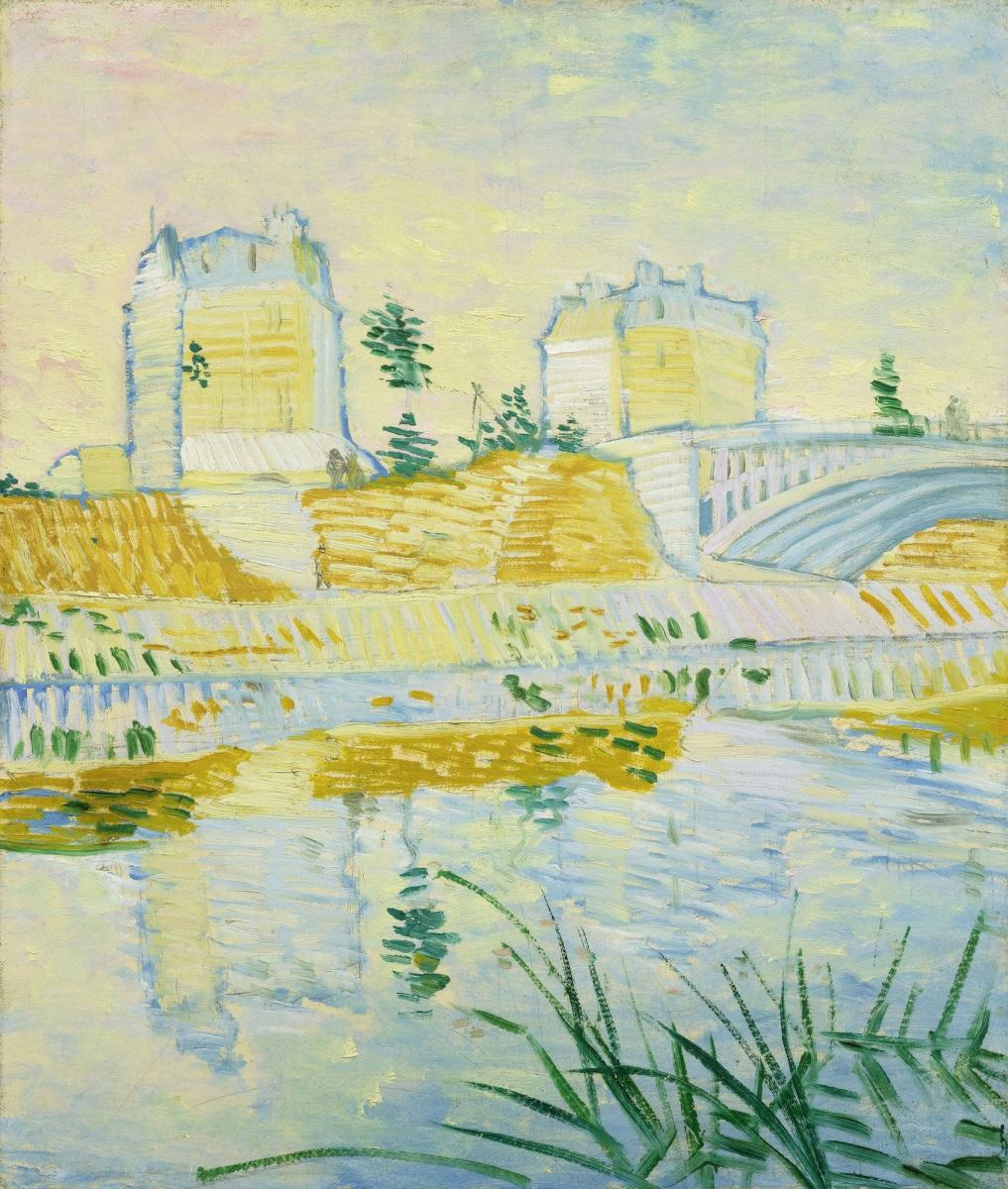 Vincent van Gogh. Hay bridge and Clichy