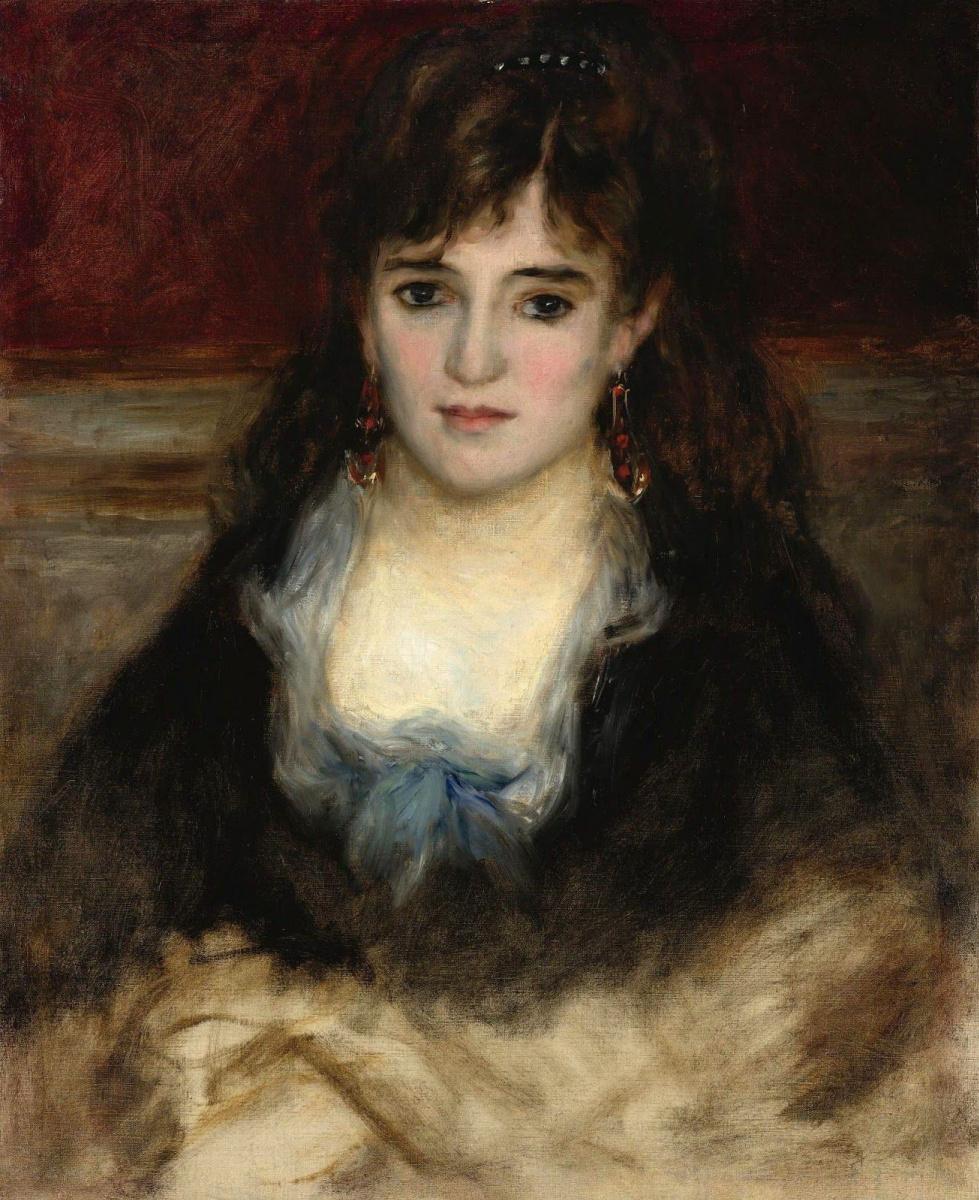 Pierre-Auguste Renoir. Portrait Of Nini