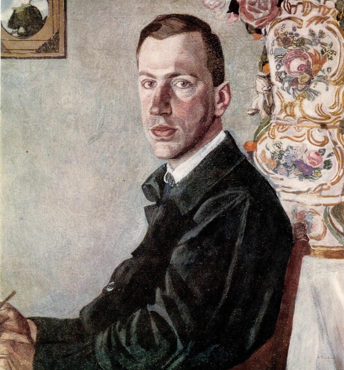 Alexander Yakovlevich Golovin. Portrait Of E. F. Gollerbakh
