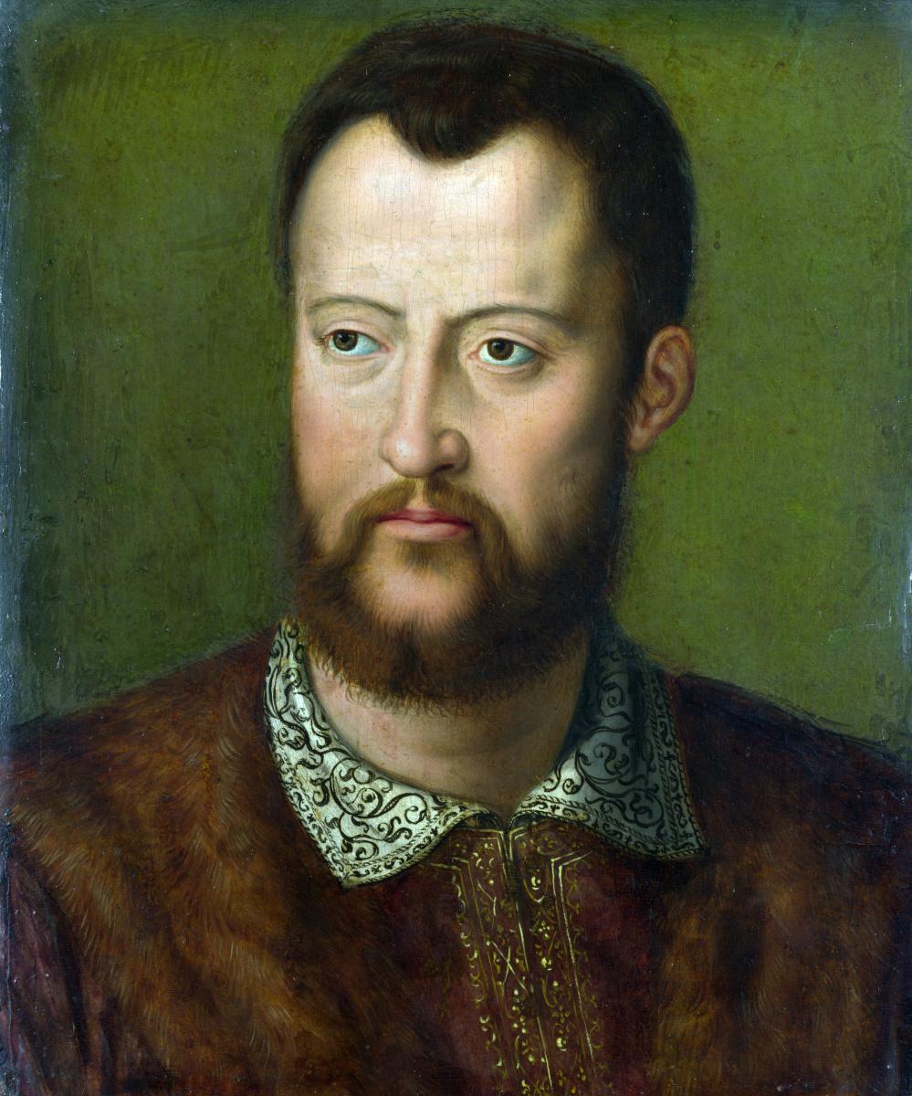 Бронзино После. Портрет Козимо I де Медичи, великого герцога Тосканского