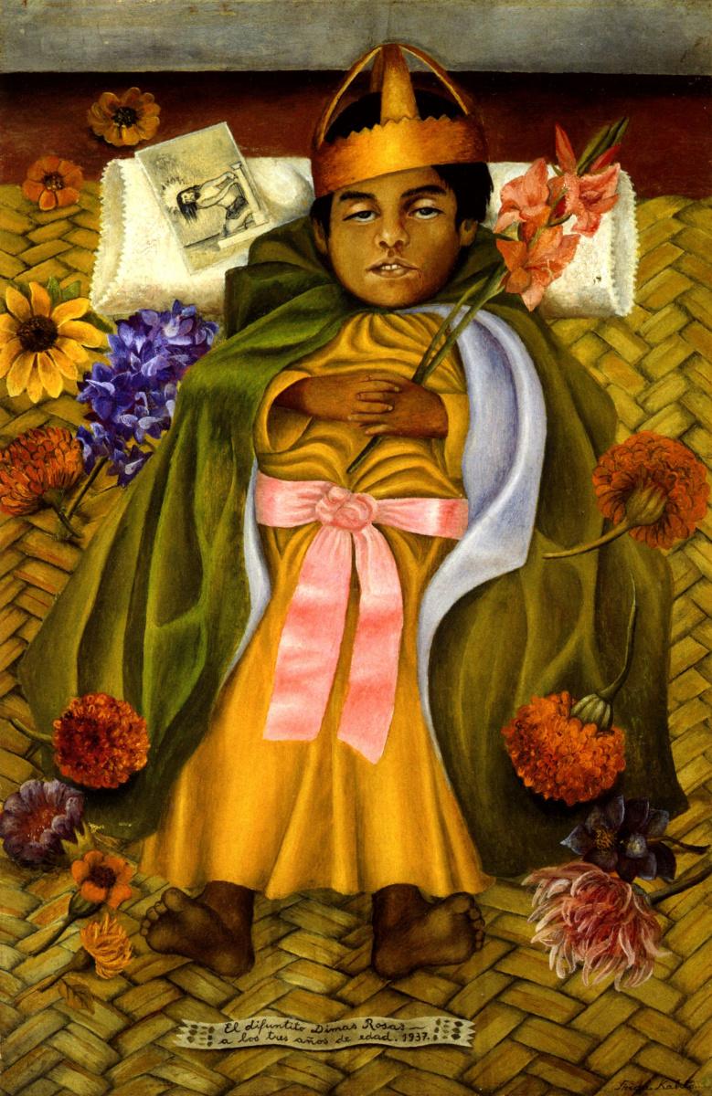 Фрида Кало. Умерший Димас